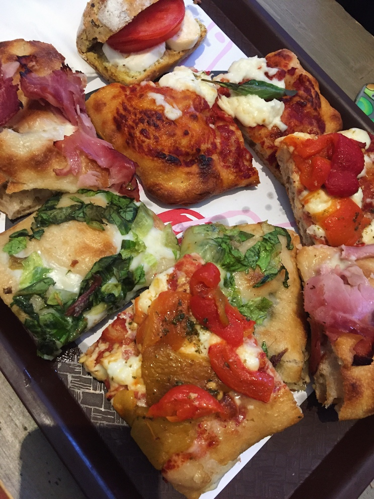 Pizzas au Mercato Centrale