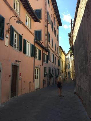 Dans les rues de Lucca