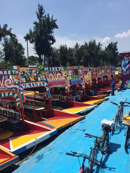 Bateaux de Xochimilco