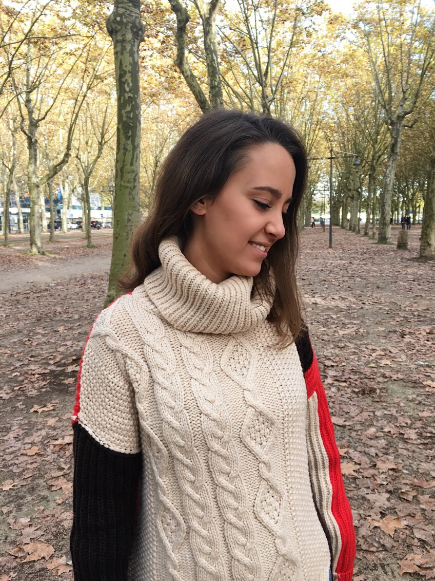 Maille oversize