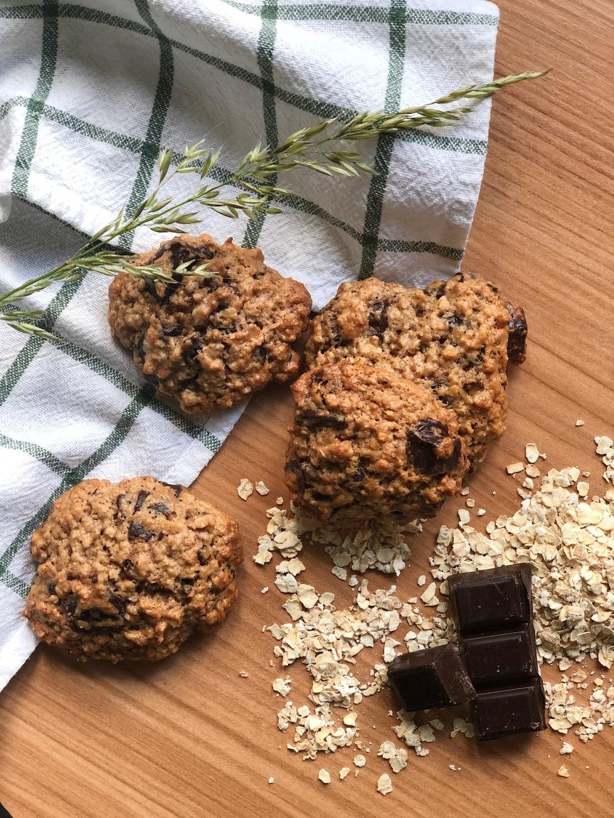 Cookies aux floconsd'avoine